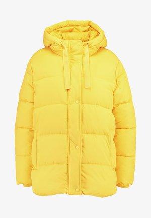 MW FASHION PUFFER - SOLID - Kurtka zimowa - bold yellow