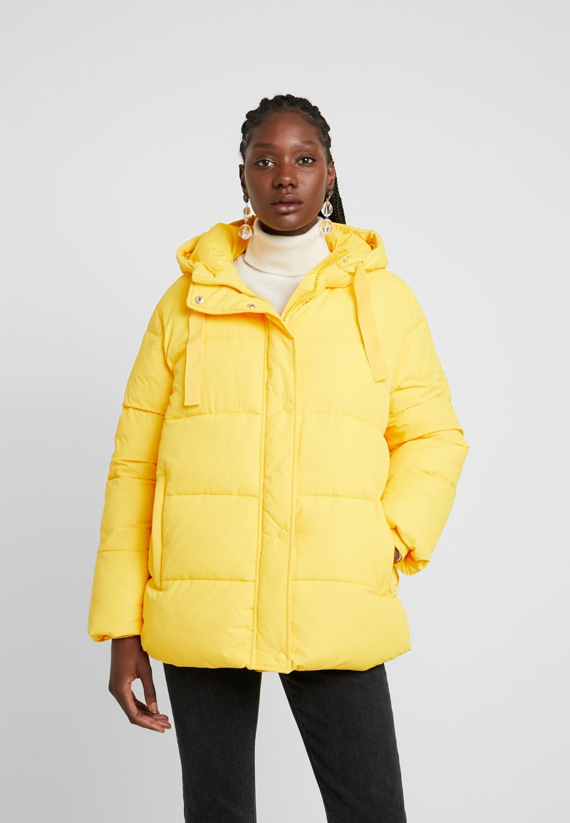 GAP - MW FASHION PUFFER - SOLID - Winterjas - bold yellow