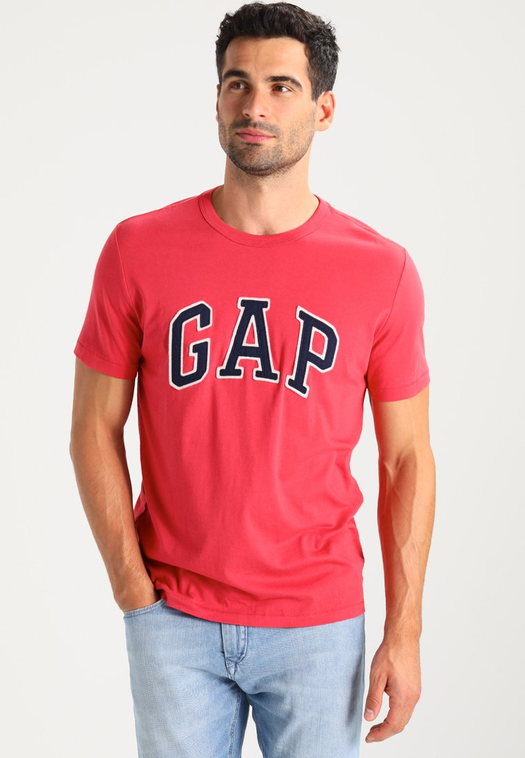 GAP - ARCH TEE - T-shirt print - weathered red