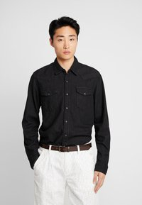 GAP - WESTERN SHIRT  - Overhemd - true black - 0