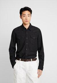 GAP - WESTERN SHIRT  - Koszula - true black - 0