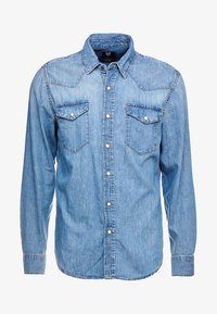 GAP - NEW WESTERN - Košile - medium authentic indigo - 4