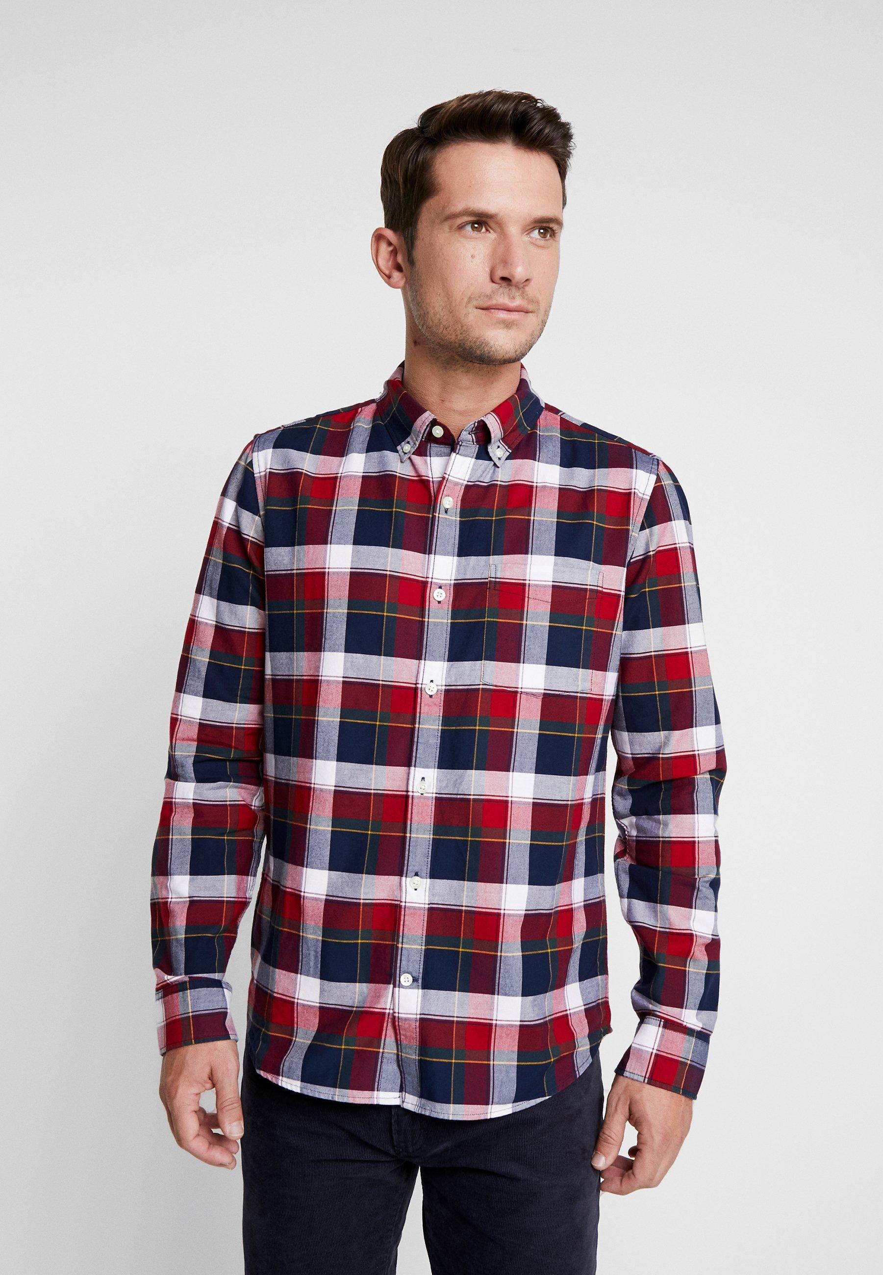 GAP OXFORD SLIM FIT - Koszula - red