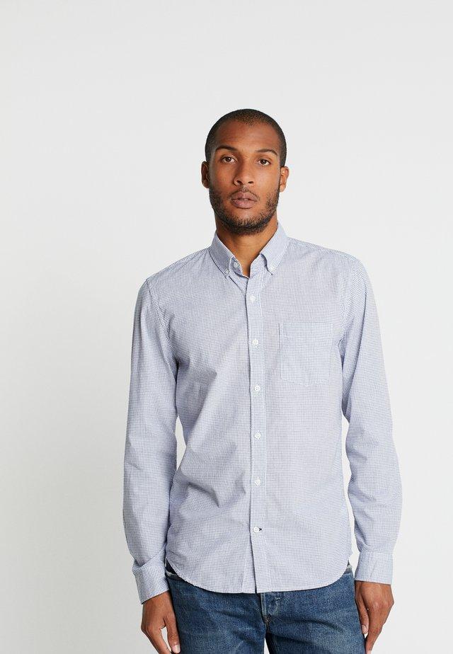 BASICS SLIM FIT - Camicia - deep cobalt combo