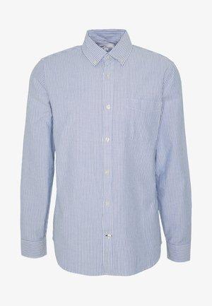 V-OXFORD BASICS SLIM FIT - Skjorta - blue