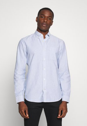 V-OXFORD BASICS SLIM FIT - Koszula - blue