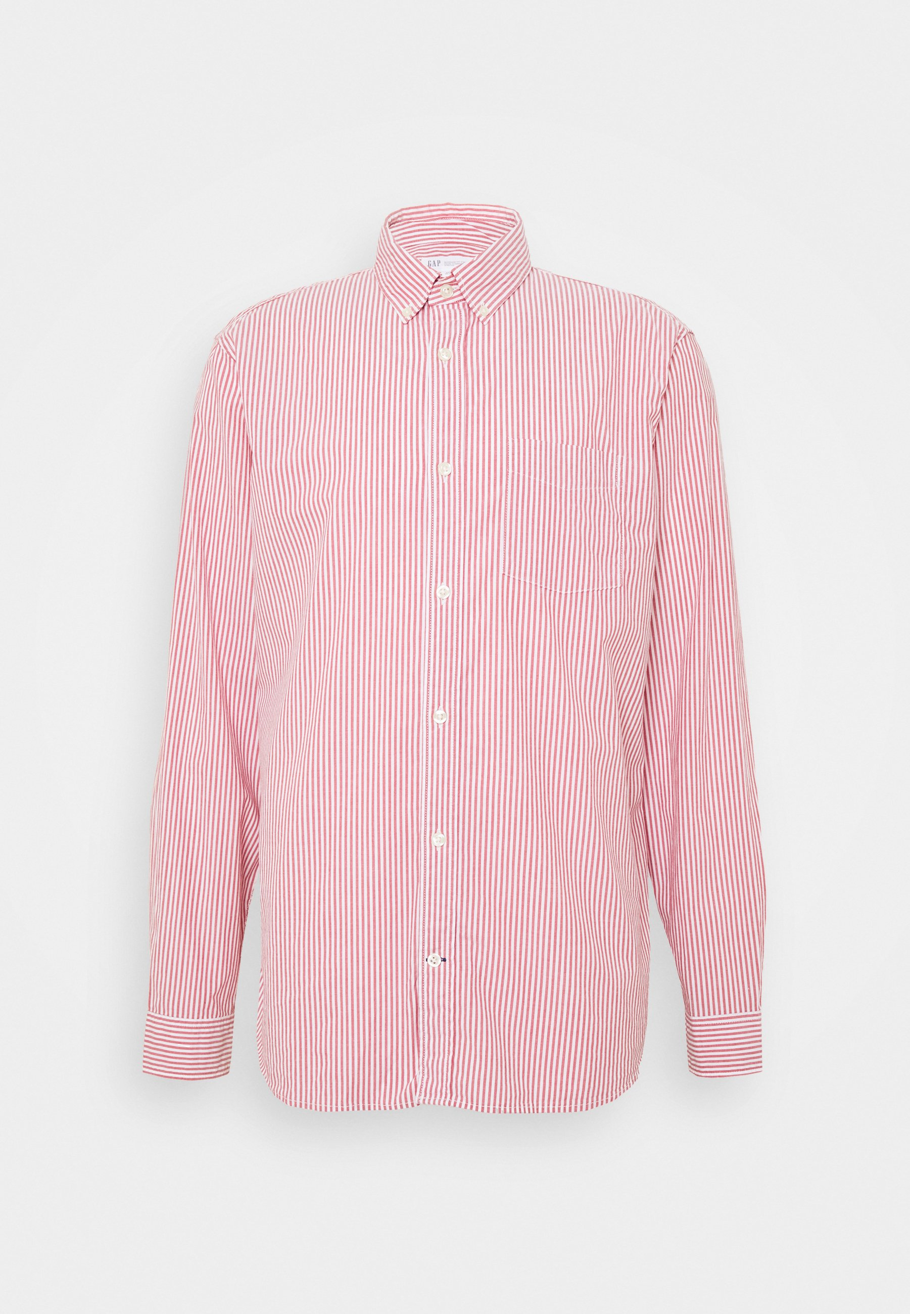 GAP POPLIN SHIRTS - Koszula - pure red stripe