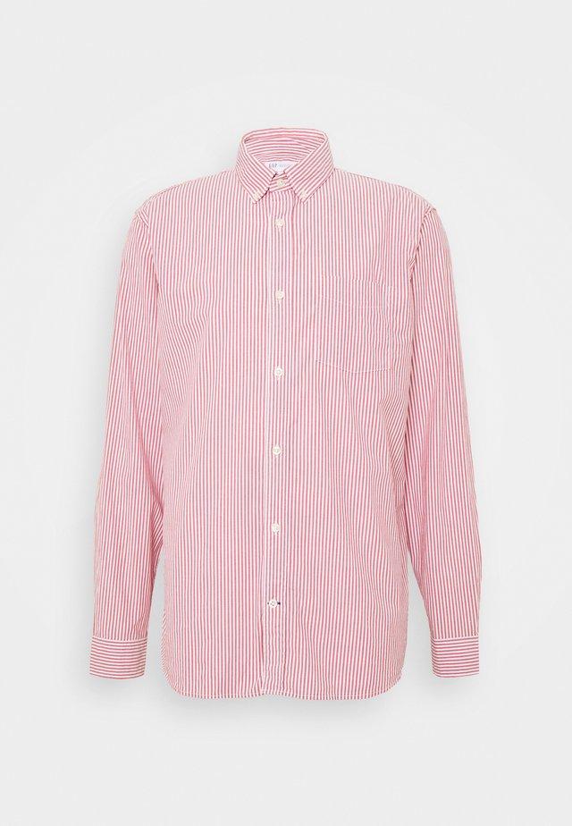 POPLIN SHIRTS - Camicia - pure red stripe