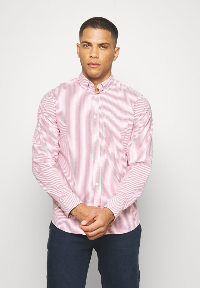 POPLIN SHIRTS - Shirt - pure red stripe