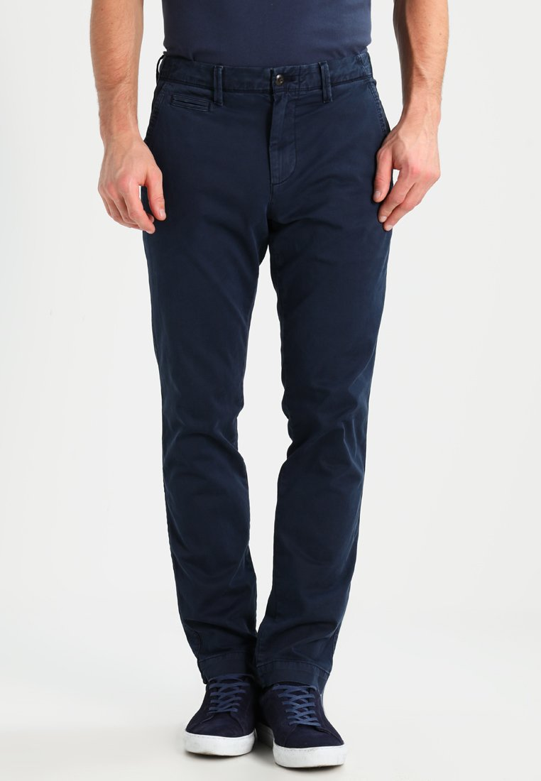 GAP - VINTAGE WASH - Trousers - tapestry navy