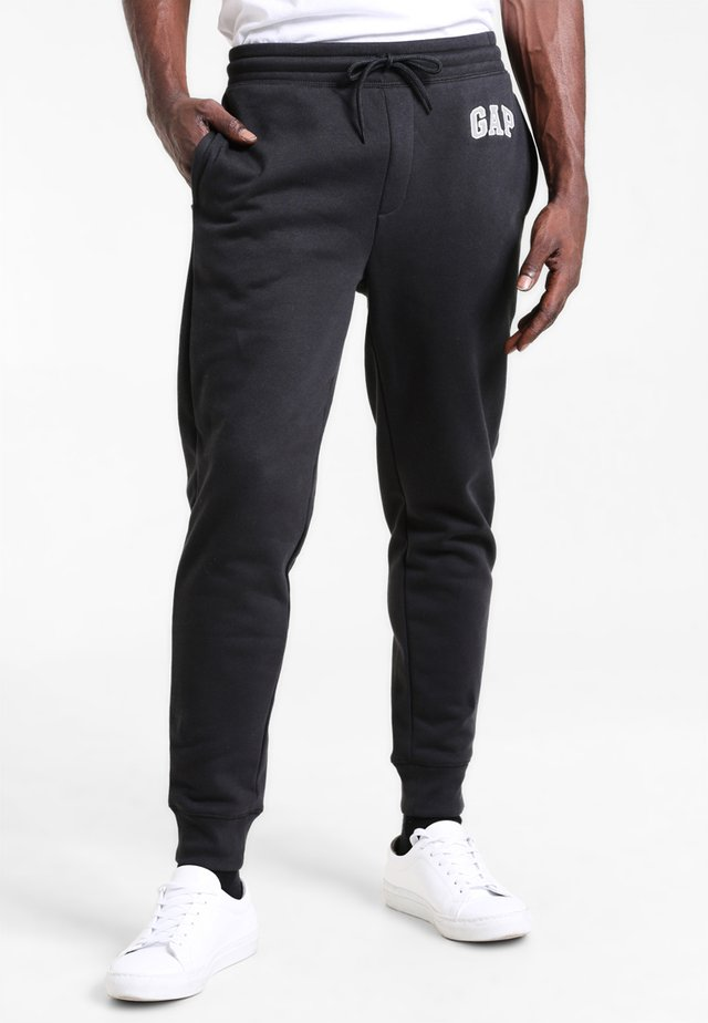 MODERN LOGO - Tracksuit bottoms - moonless night