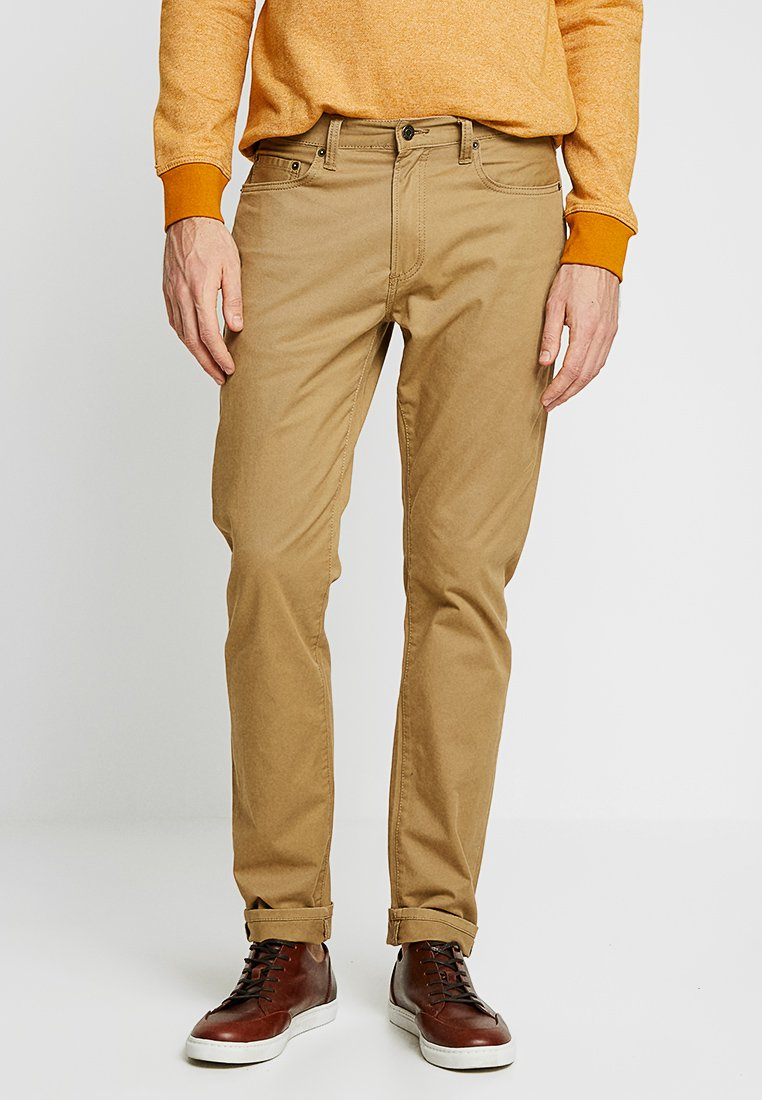 GAP - V-SLIM STRETCH - Slim fit jeans - mission tan