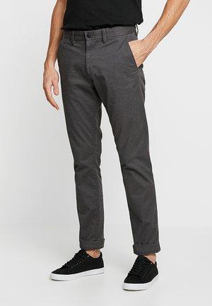 V-SLIM STRETCH - Chino kalhoty - soft black