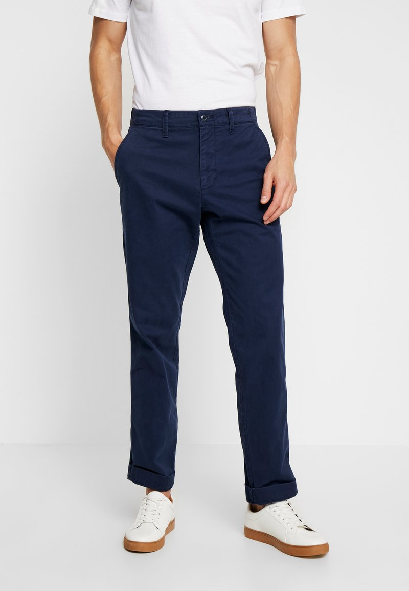 GAP - V-LIVED IN - Trousers - tapestry navy