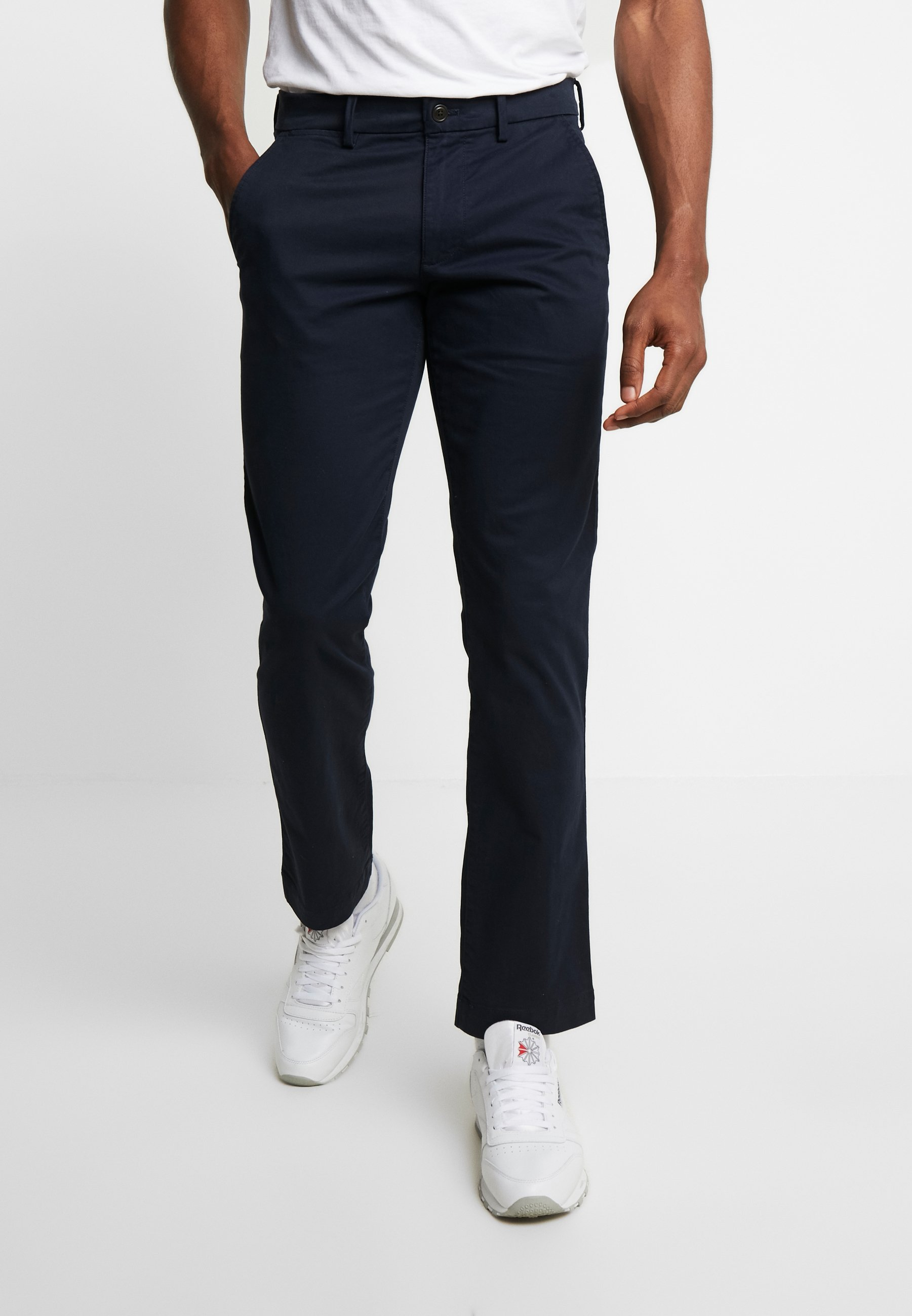 GAP ESSENTIAL STRAIGHT FIT - Chinos - new classic navy