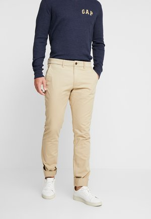 ESSENTIAL - Pantalones - tan