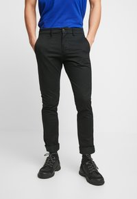 GAP - ESSENTIAL - Kangashousut - true black - 0