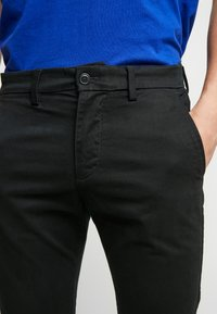 GAP - ESSENTIAL - Kangashousut - true black