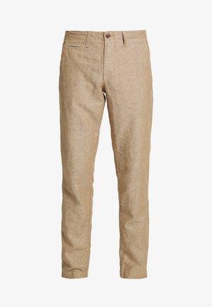 NEW SLIM PANTS - Pantaloni - beige