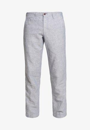 NEW SLIM PANTS - Trousers - blue