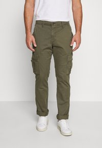 GAP - Cargo trousers - khaki - 0