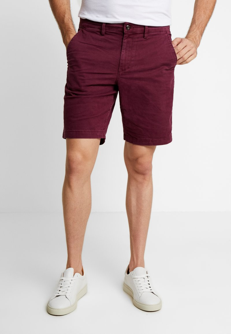 GAP - STRETCH SOLID LIVED - Shorts - tuscan red
