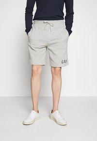 GAP - NEW ARCH LOGO - Spodnie treningowe - light heather grey - 0