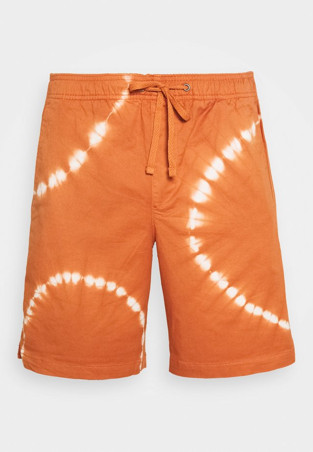 JOGGER NEW - Shorts - orange tie dye