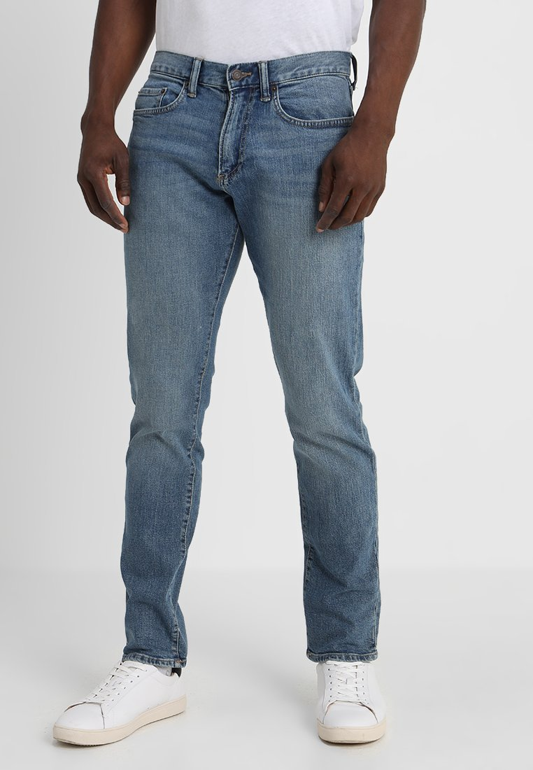 GAP - V-SLIM  - Slim fit jeans - worn vintage