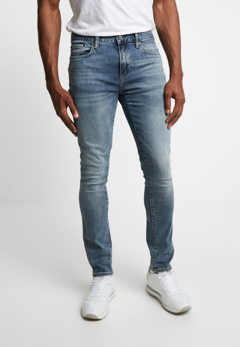 GAP - Skinny džíny - medium indigo