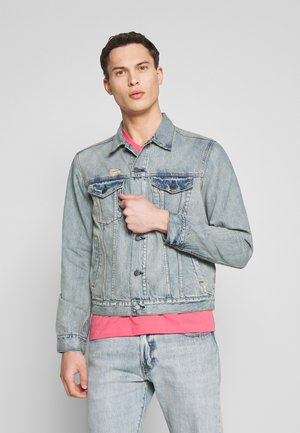 V-FLEX ICON DESTROY - Kurtka jeansowa - light-blue denim