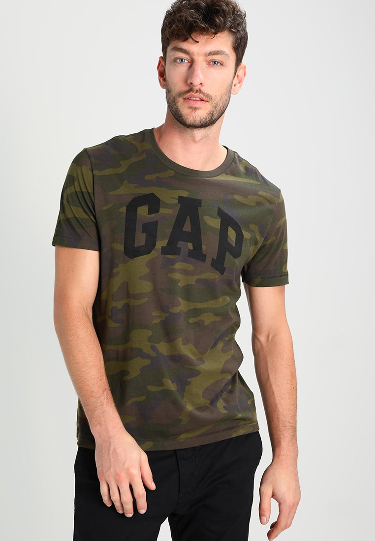 GAP - Camiseta estampada - green