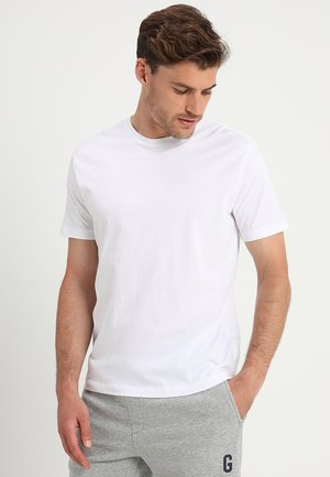 EVERYDAY CREW SOLIDS - T-shirt - bas - white global