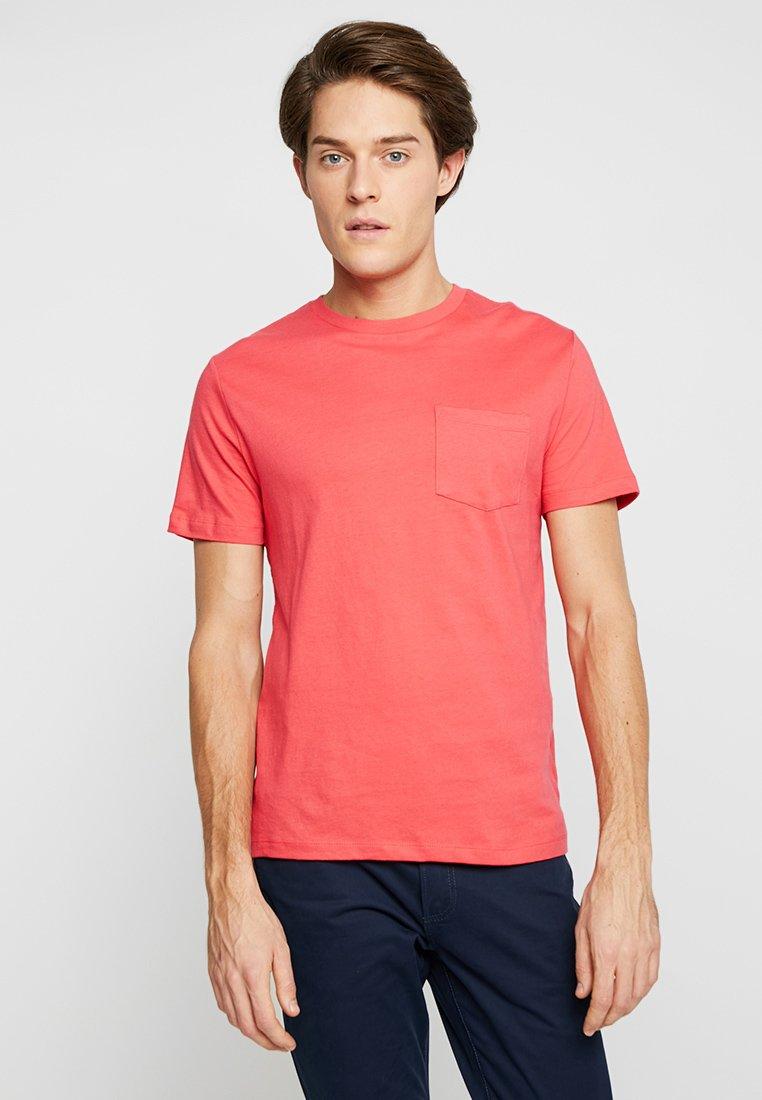 GAP - EVERYDAY CREW SOLIDS - Camiseta básica - spring coral