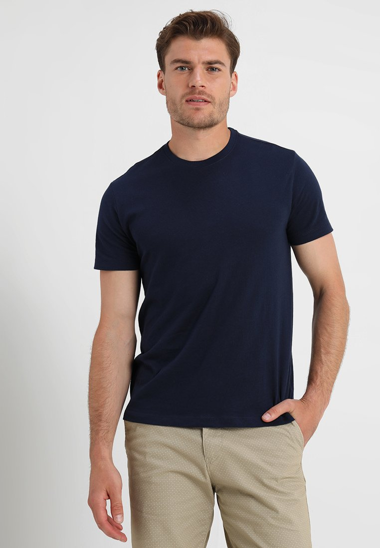 GAP - EVERYDAY CREW SOLIDS - T-shirt - bas - tapestry navy