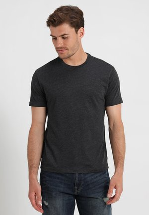 EVERYDAY CREW SOLIDS - Basic T-shirt - charcoal grey