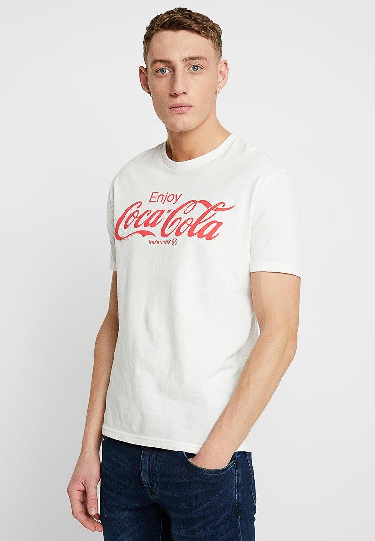 GAP - POP CULTURE TEE - T-Shirt print - white