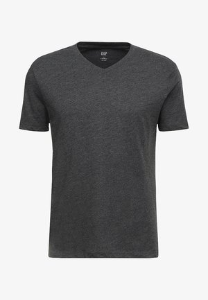 EVERYDAY SOLIDS - Basic T-shirt - charcoal grey