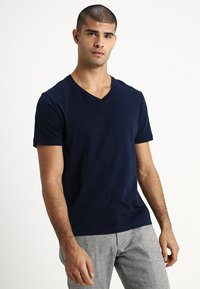 GAP - EVERYDAY SOLIDS - T-shirt - bas - navy - 0