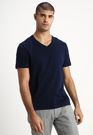 EVERYDAY SOLIDS - Basic T-shirt - navy