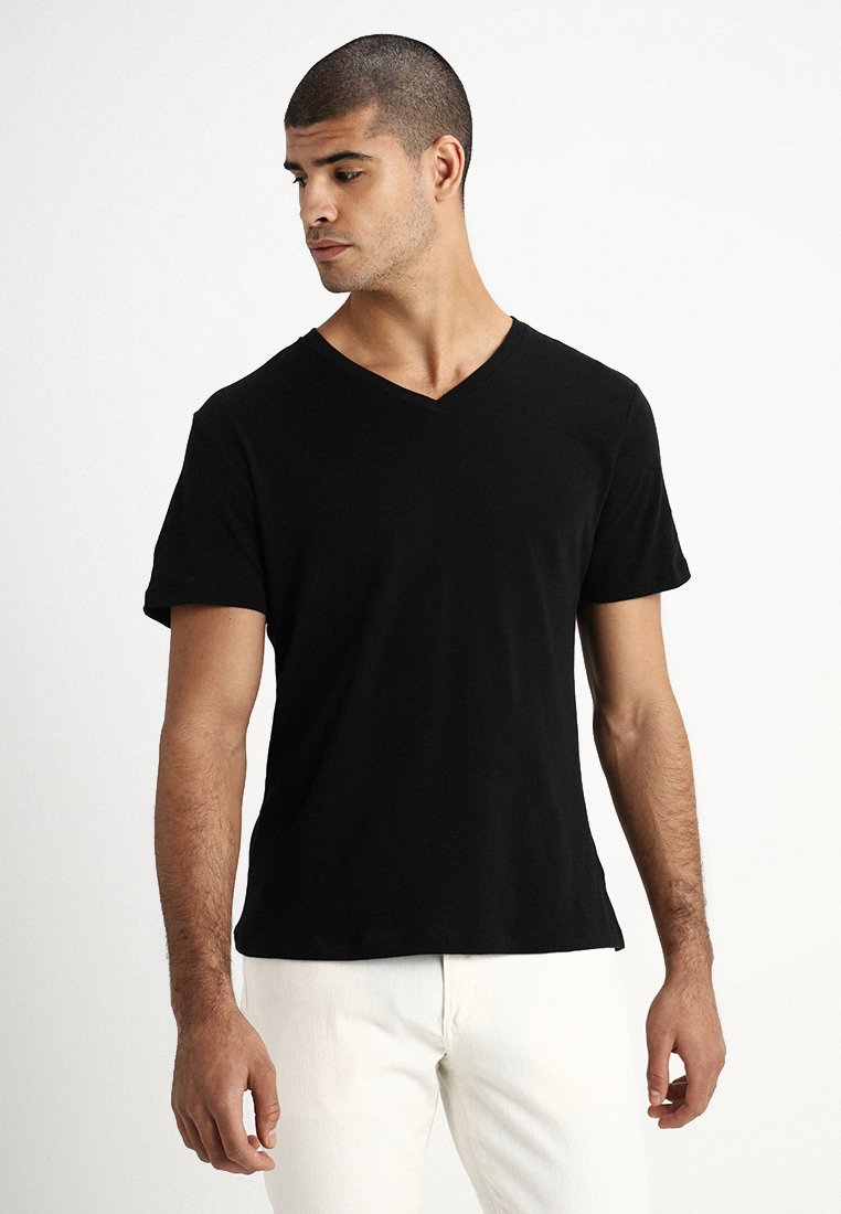 GAP - EVERYDAY SOLIDS - T-shirt - bas - true black