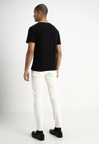 GAP - EVERYDAY SOLIDS - T-shirt - bas - true black - 2