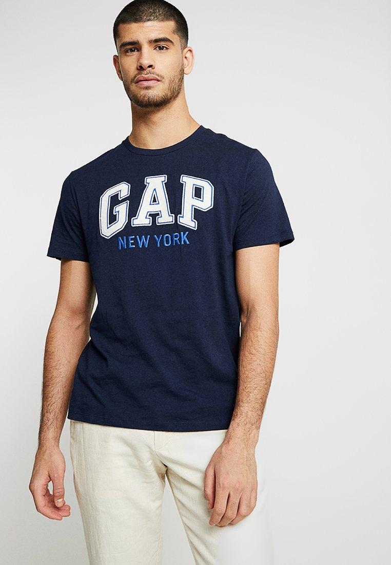 GAP - NEW YORK CITY TEE - Print T-shirt - tapestry navy