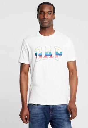 FILLED ARCH TEE - Camiseta estampada - new off white