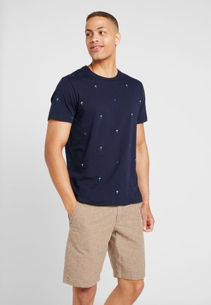 T-shirt con stampa - tapestry navy