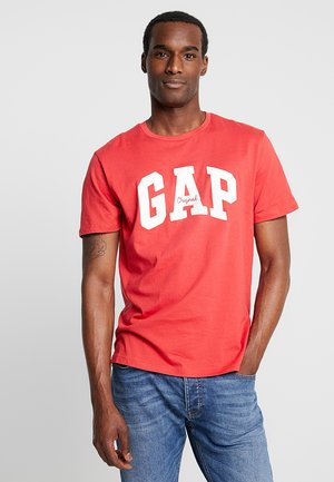 LOGO ORIG ARCH - Print T-shirt - weathered red