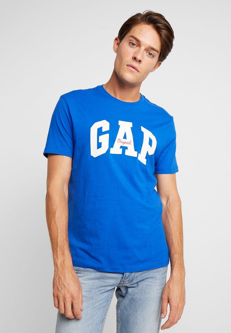 GAP - LOGO ORIG ARCH - Print T-shirt - admiral blue
