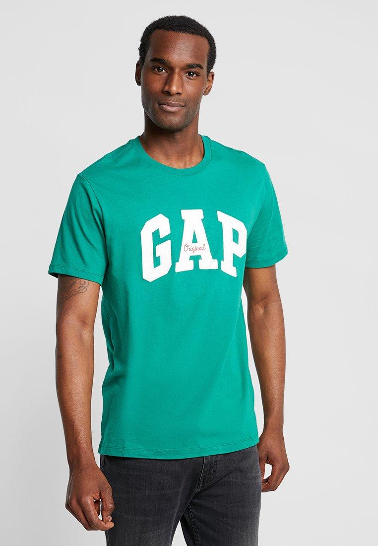 GAP - LOGO ORIG ARCH - Camiseta estampada - irish clover