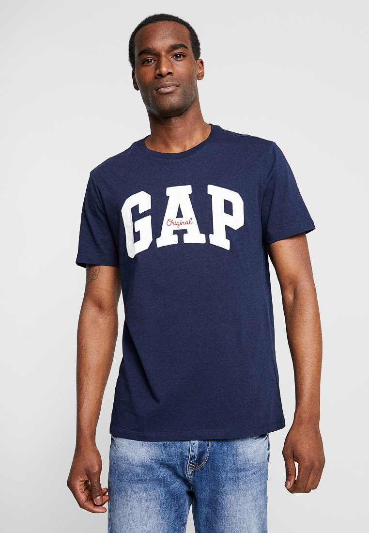 GAP - ORIG ARCH  - Print T-shirt - tapestry navy