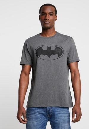 BATMAN TEE - T-shirt z nadrukiem - charcoal heather